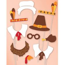 thanksgiving photo booth props photo booth prop kit 10 pcs