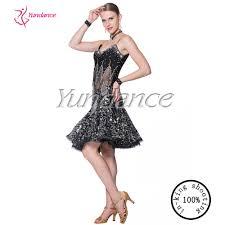 halloween dance costumes 2016 sequin halloween black samba dancing costume l 14107