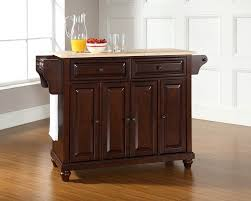 Kitchen Island Pictures by Amazon Com Crosley Furniture Cambridge Kitchen Island With