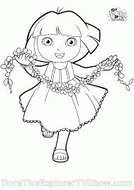 dora coloring pages dora coloring pages backpack diego boots