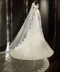 wedding veils for sale aliexpress buy luxury cathedral wedding veil white or ivory