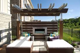 the fireplace deck contemporary deck toronto by paul