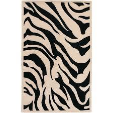 Zebra Print Area Rug 8x10 Home Decor Fetching Zebra Print Rug With Rug Pink Trim