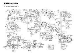 korg ms 20 synthesizer service manual