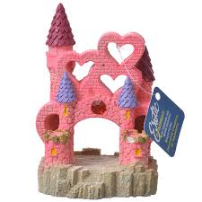 blue ribbon pet products environments castle ornament