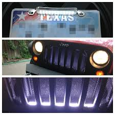 texas jeep grill jeep led grill fixed jeep
