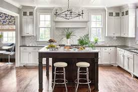Kitchen Island With Legs Square Coffee Stained Kitchen Island With Legs Transitional