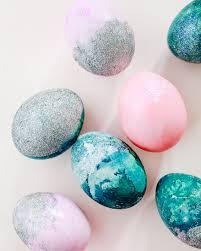 glitter easter eggs hologram glitter dipped easter eggs