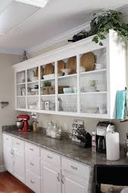 Kitchen Cabinet Plate Rack Storage Kitchen Furniture Kitchen 4 Tier White Polished Steel Floating