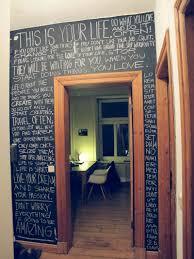 tableau verre transparent pour ecrire un mur pour écrire à la craie wanted idée déco pinterest