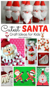 Easy Santa Craft Ideas For Kids Red Ted Art U0027s Blog