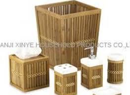 bamboo bathroom accessories koo bamboo bathroom accessoriesbest