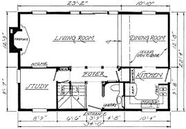 federal style home plan 11619gc architectural designs house