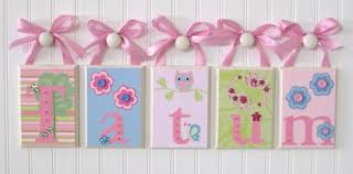 Nursery Wall Decor Letters Nursery Decor Letters Nursery Decorating Ideas