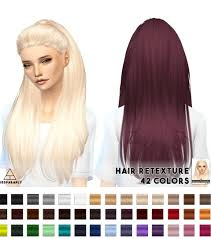 sims 4 custom content hair miss paraply hair retextures nightcrawler break free sims 4
