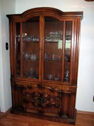 Cabinet Living Room Furniture Solid Oak Wood China Cabinet Furniture Go To