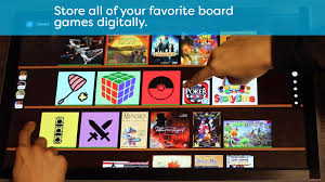 play table board game console playtable worlds first board game console digital collection png