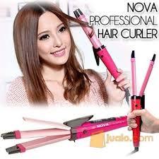 Catok Rambut Murah catok rambut 2 in 1 murah alat pelurus rambut keriting paling