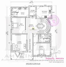 free floor plan and elevation 2927 square feet 5 bhk