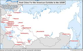 map of ussr map exhibits to the u s s r