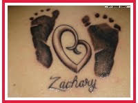 baby footprint tattoo designs tattoo ideas pictures tattoo