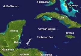 map of roatan honduras map roatan community map towns roatan island