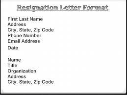resignation letter powerpoint
