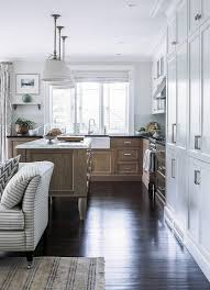 wire brushed white oak kitchen cabinets wire brushed oak kitchen island with white pleated drum