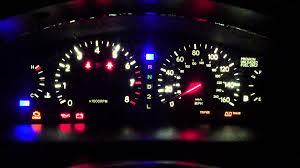 lexus dash lights lexus gs300 generation aristo led dash lights test