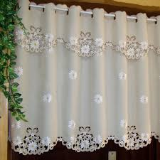 aliexpress com buy british half curtain embroidered window