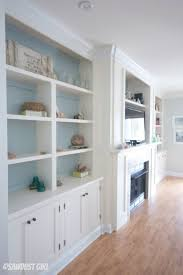 How To Build A Built In Bookcase Into A Wall Best 25 Painted Entertainment Centers Ideas On Pinterest