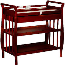 how much is a changing table taylor 7 drawer wooden changing table the land of nod in wood