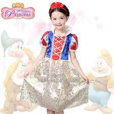 Snow White Halloween Costume Toddler Snow White Flower Dress Snow White Flower Dress