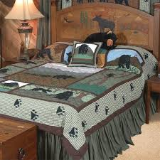 Country Duvet Covers Quilts Bear Country Quilt Collection Cabin Place