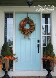 entryway decor apartment front door decorating for halloween