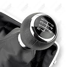 gear knob stick 6 gear for vw passat variant 3c0711113a new ebay
