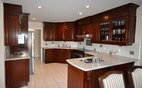 Refacing Kitchen Cabinets Before And After  Liberty Interior - Kitchen cabinets montreal