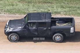 jeep prototype truck jeep wrangler pickup spotted for the first time motor trend canada