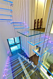 sky penthouse is located on top 3 floors of 156 m tall residential