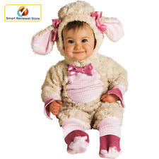 Newborn Halloween Costume Infant Baby Plush Lamb Costume Clothes 6 To 12 Months Toddler
