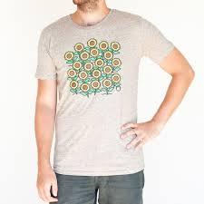 light brown t shirt light brown t shirt sunflowers pohoda festival