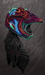 skull motocross helmet brock hofer