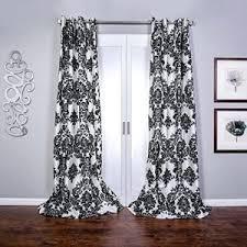 black and white damask curtains uk gopelling net