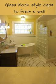 Glass Block Bathroom Ideas by 69 Best Bathroom Reno Ideas Images On Pinterest Bathroom Ideas