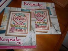 Keepsake Items Craftways 2018 Keepsake Cross Stitch Calendar Pattern Instruction