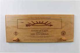 arrow of light award images arrow of light award plaque