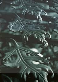 chicago ornamental iron oak sculpture