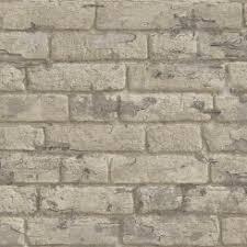 antique painted bricks wallpaper beige koziel fr