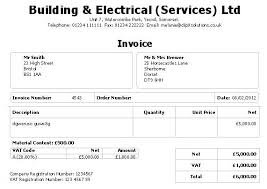 sales tax invoice sales invoice example
