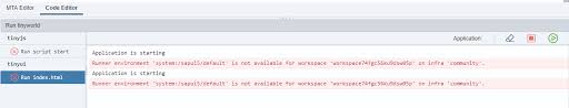 developing with xs advanced create a sap hana based client server